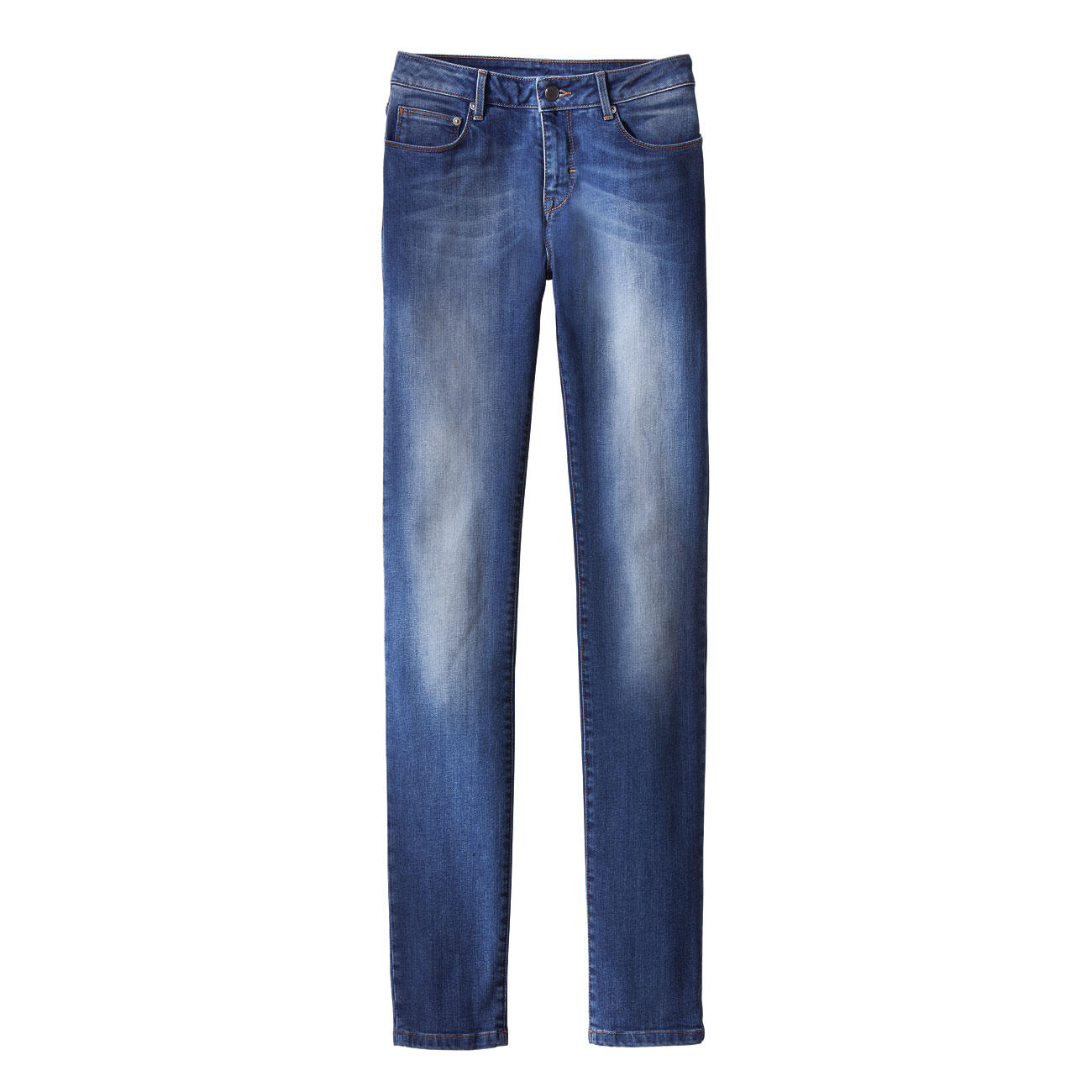 As mentioned above, designer jeans like those from Joe's Jeans will look fabulous on you if you choose the right style for your body type. If you have an hourglass figure, choose a mid- or high-waist pair of jeans that has a boot cut or a tapered leg.